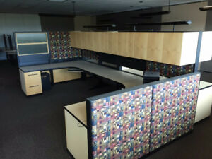 Office Cubicles (various designs for 4 person to 8 person)