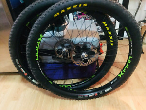 DT swiss wheelset mint