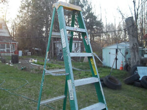 7 foot fibreglass step ladder