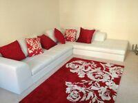 DWELL Corner Sofa White for sale was £2000