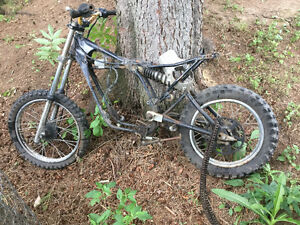 Yamaha yz 80 parts bike