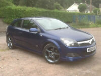 2008 Vauxhall Astra sri cgti 150 turbo diesel hatch back blue