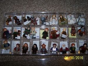 Lego Lord of the Rings and Hobbit minifigures Comic Con Oct 29