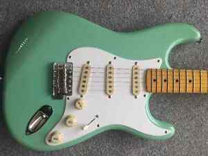 Squier FSR Classic Vibe Stratocaster '50s Surf Green Prince George British Columbia image 4