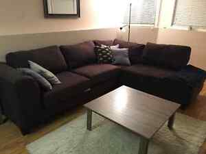 Sectional Couch, coffee table and TV stand St. John's Newfoundland image 1