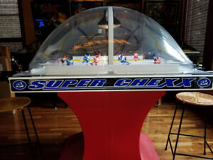 Super Chexx Bubble Hockey Arcade Game - 1 owner