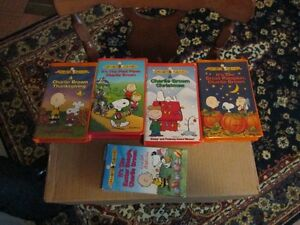 VINTAGE CHARLIE BROWN TAPES (5 OF THEM)