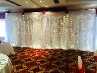 LED starlight Backdrop 6mx3m hire only £150