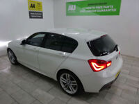 White BMW 1 Series 120 2.0TD M Sport ***FROM £290 PER MONTH***