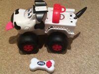 Remote control dog toy