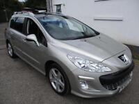 2008 PEUGEOT 308 SW SPORT HDI * PAN ROOF * ESTATE DIESEL