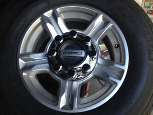 """2017 Ford F350 17"""" factory alloy wheels - new take-offs"""