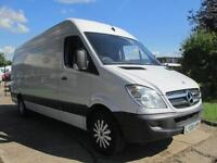 2008 08-REG MERCEDES SPRINTER 311CDI LWB HIGH ROOF. LOW 80,000 GENUINE MILES. PX