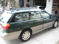 Complete running 2000 Subaru for parts