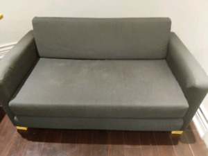 Ikea Small apartment size pull out sofa.