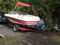 Four Winns 19 ft. and trailer Watch|Share |Print|Report Ad