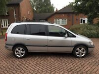 2005 54 VAUXHALL ZAFIRA 2.0 DTI ENERGY SILVER DIESEL 7 SEATER