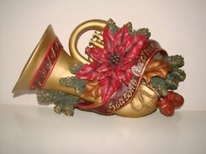 Christmas Ceramic Wall hanging Trumpet