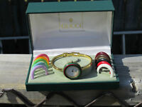 Authentic Gucci bangle bezel watch and accessories Lovely Petite