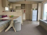 Central Heated Static Caravan In North Wales Near Beach Swimming Pool