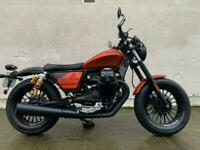 Moto Guzzi V9 Bobber Sport - only 9 miles !! Ohlins suspension - sports exhausts