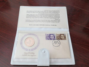 Sterling Silver Proof medal - 1973 Royal Wedding Medallic Cover