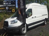 2014 64 Ford Transit 2.2TDCi 125S RWD 350 LWB NEW SHAPE HIGH ROOF CHOICE OF 3