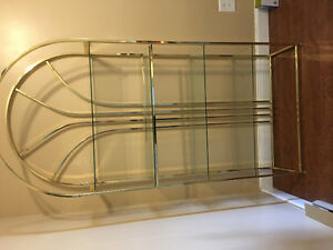 Gold coloured rack for sale