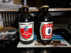 Stubby Canadian Beer Bottles