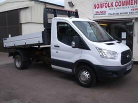 Ford Transit 350 One Stop Factory Aluminium Tipper