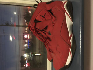 Air Jordan's size 12 red good condition