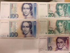 250 Germany Deutsche Mark for $300 o.b.o