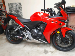 Honda CBR 500r  with ABS and Coffman Exhaust