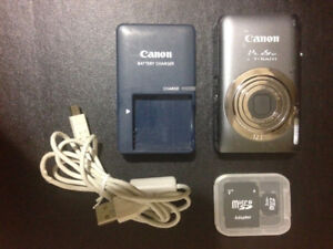 Canon PowerShot ELPH 100 HS for sale with accessories includ