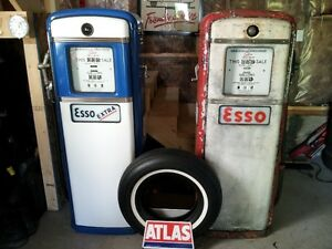 1953 Gilbarco Gas Pumps
