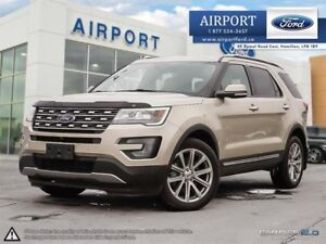 2017 Ford Explorer Limited 4WD with only 15,083 kms