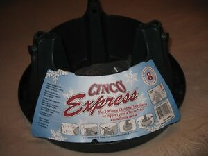 CHRISTMAS TREE STAND ''CINCO EXPRESS''-SPILL GUARD-BRAND NEW!