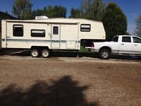 1994 Terry 26.5ft 5th wheel trailer $5250