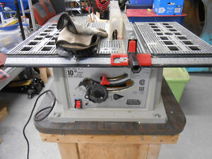 Table Saw, Band Saw and Disc Sander