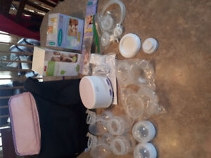 NEW! Philips Avent comfort double electric breast pump