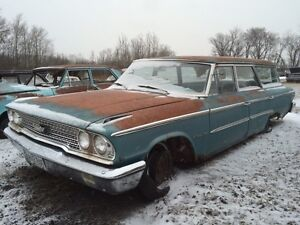 1963 Ford station wagon