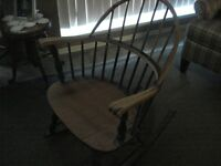 Antique Windsor Rocker Restoration Project