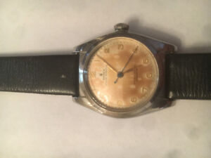 1948 oyster perpetually bubble top Rolex $3000