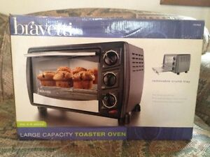 new Bravetti XL toaster oven