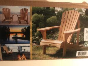 New Adirondack chair