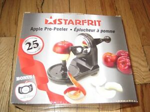 New Starfrit Apple Pro-Peelert