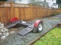 Car dolly trailer, like new