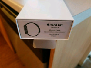 Apple Watch Series 1.   38mm with two straps