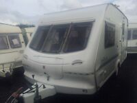 2 BERTH 2000 ELDDIS HURRICANE WITH END BATHROOM AND AWNING MORE IN STOCK WE CAN DELIVER PLZ VIEW