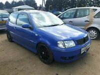 2000 VOLKSWAGEN POLO SE MODIFIED NOW BREAKING FOR PARTS